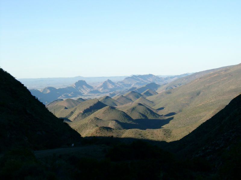 View from Bosluiskloof pass