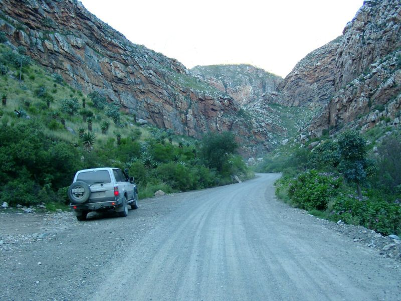 Entrance to Seweweekspoort from the South