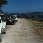 Following the Chobe River to Serondella Camp